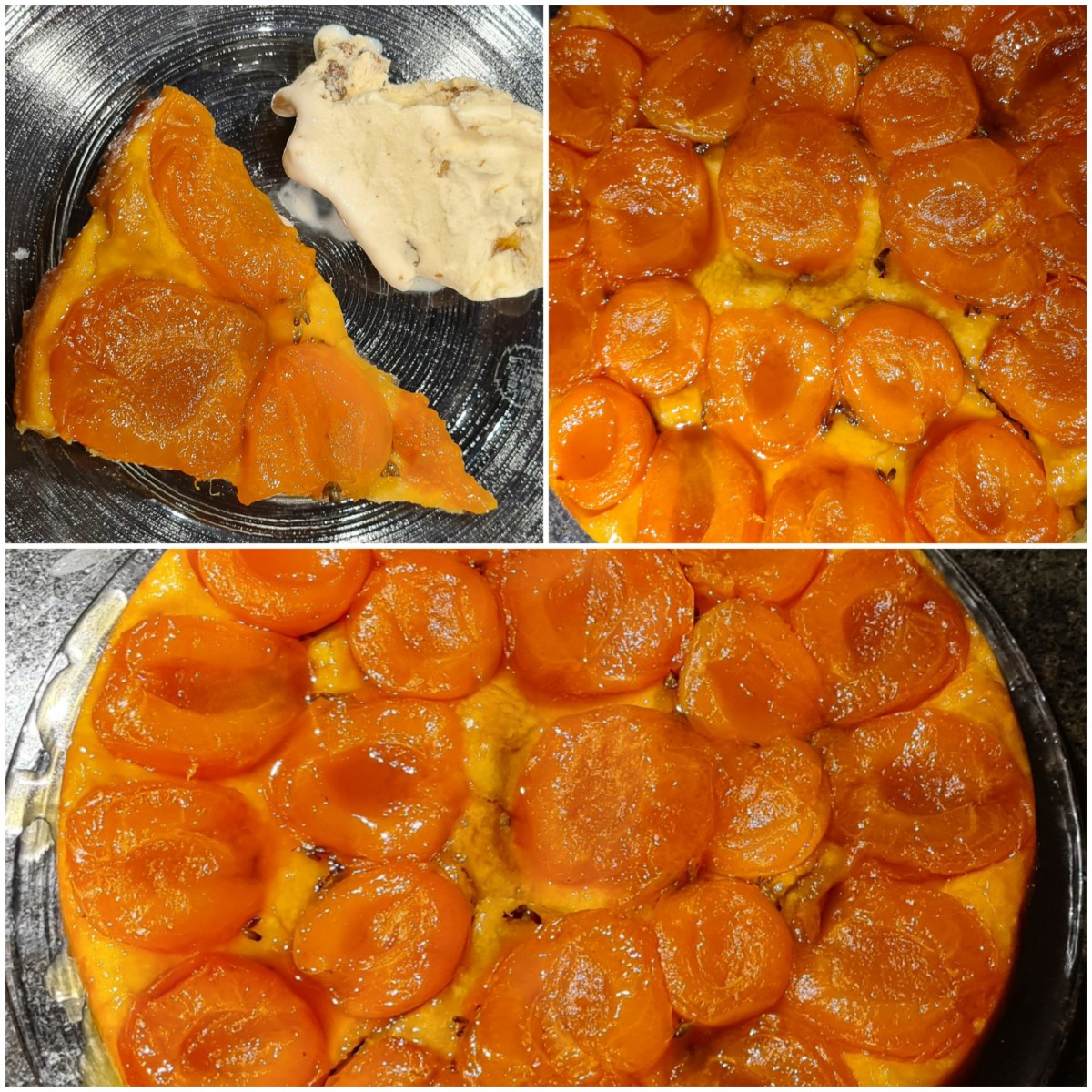 Aprikosen-Lavendel-Tarte Tatin