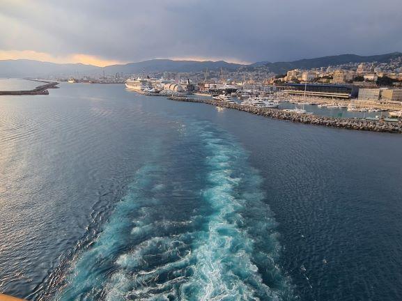 Hafen von Genau