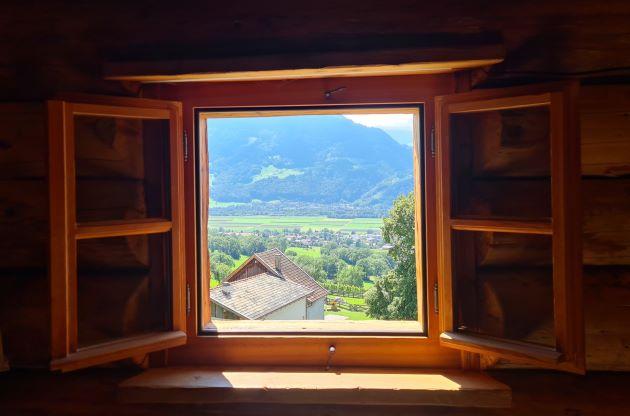 Fenster mit Aussicht